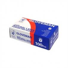 Powder Free Latex Medical Gloves (PK100) White