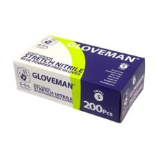 Gloveman Medical Grade Nitrile Gloves (PK200) Blue