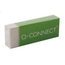 Q-Connect White PVC Eraser