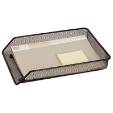 QConnect Mesh A4 Letter Tray Blk Kf00848
