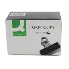 Q-Connect Grip Clip 70mm Pk10