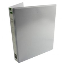 Q-Connect Pres Binder 4 DRing 25mm Wht