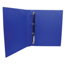 Q-Connect Pres Binder 4 DRing 25mm Blue