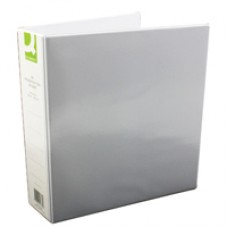 Q-Connect Pres Binder 4 DRing 50mm Wht