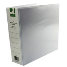 Q-Connect Pres Binder 4 DRing 65mm Wht