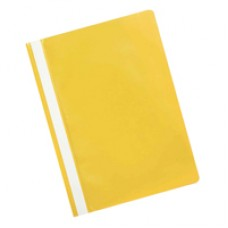 Q-Connect Project Folder Yellow Pk25