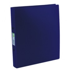 Q-Connect 2RBndr A4 PP Opaque FrostedBlu