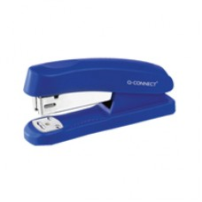 Q-Connect Stapler Plastic Half Strip Blu