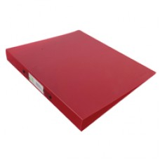 Q-Connect Ring Binder Frosted Red