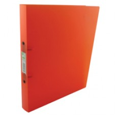 Q-Connect Ring Binder Frosted Orange