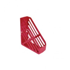 Q-Connect Magazine Rack Red