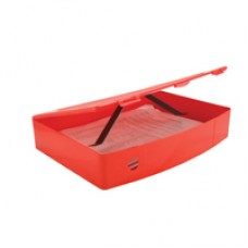 Q-Connect BoxFile Polyprop Red