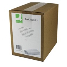 Q-Connect Fax Roll 210x30Mx25mm