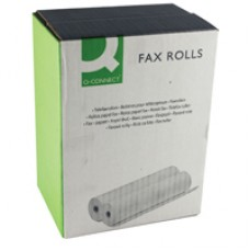 Q-Connect Fax Roll 210mmx24Mx12mm