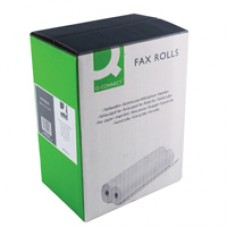 Q-Connect Fax Roll 216mmx15Mx12mm